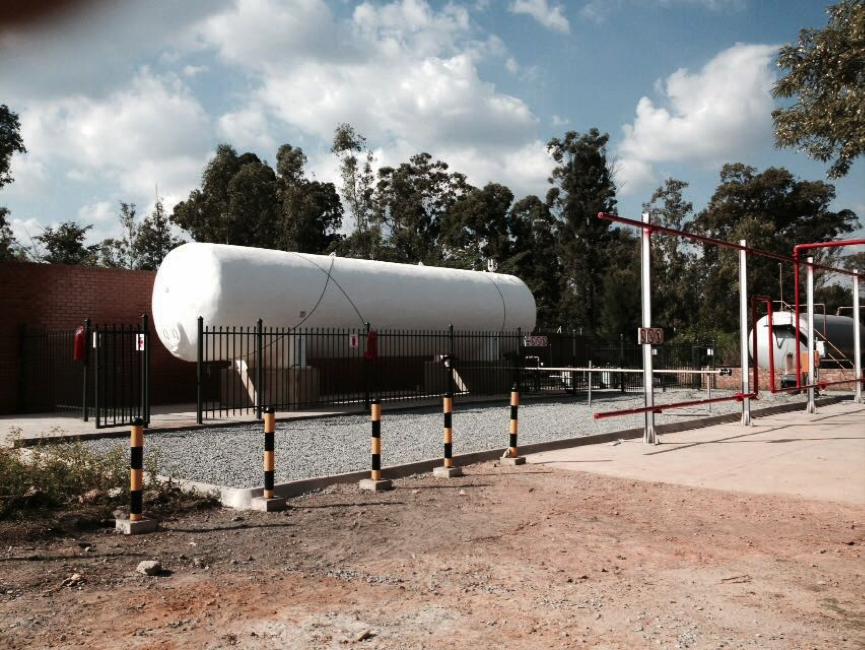 LPG Tank and Depot Installations South Africa, Gauteng
